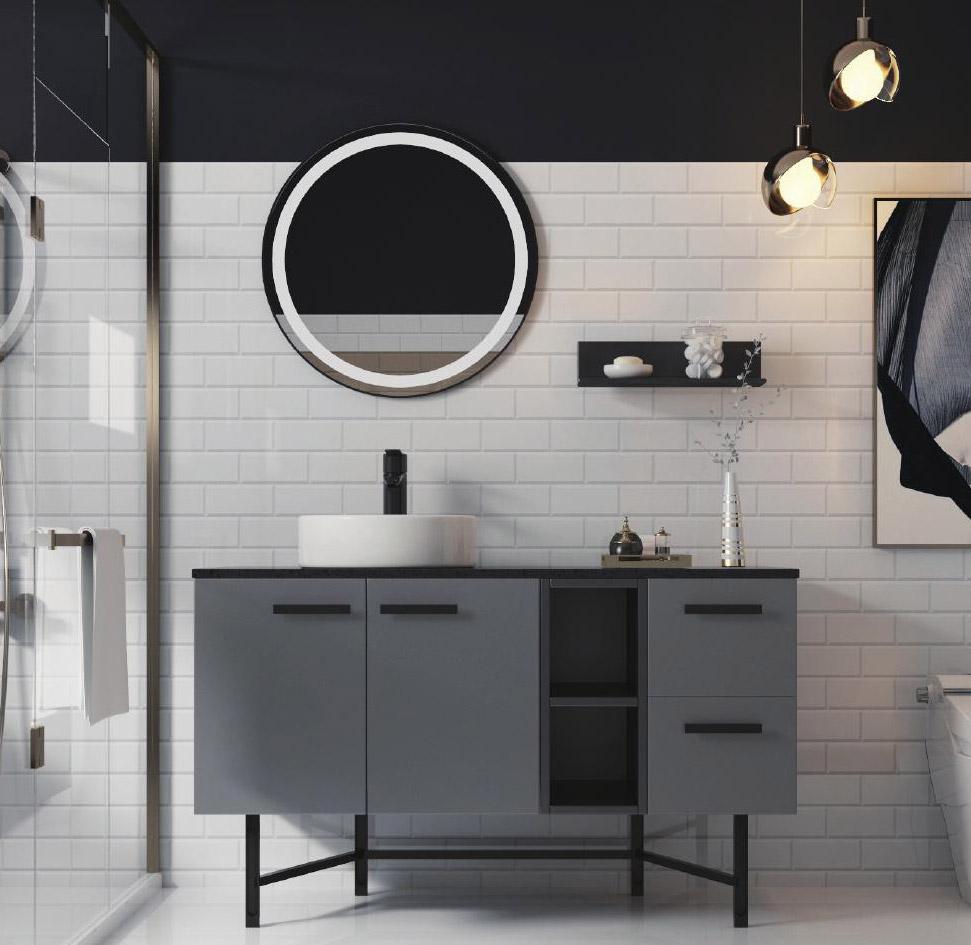 不锈钢浴室柜•BK-YS018