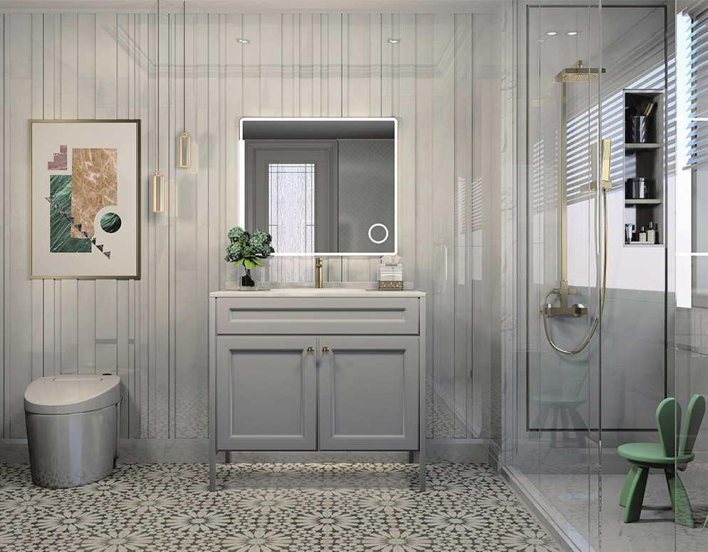 不锈钢浴室柜•BK-YS014