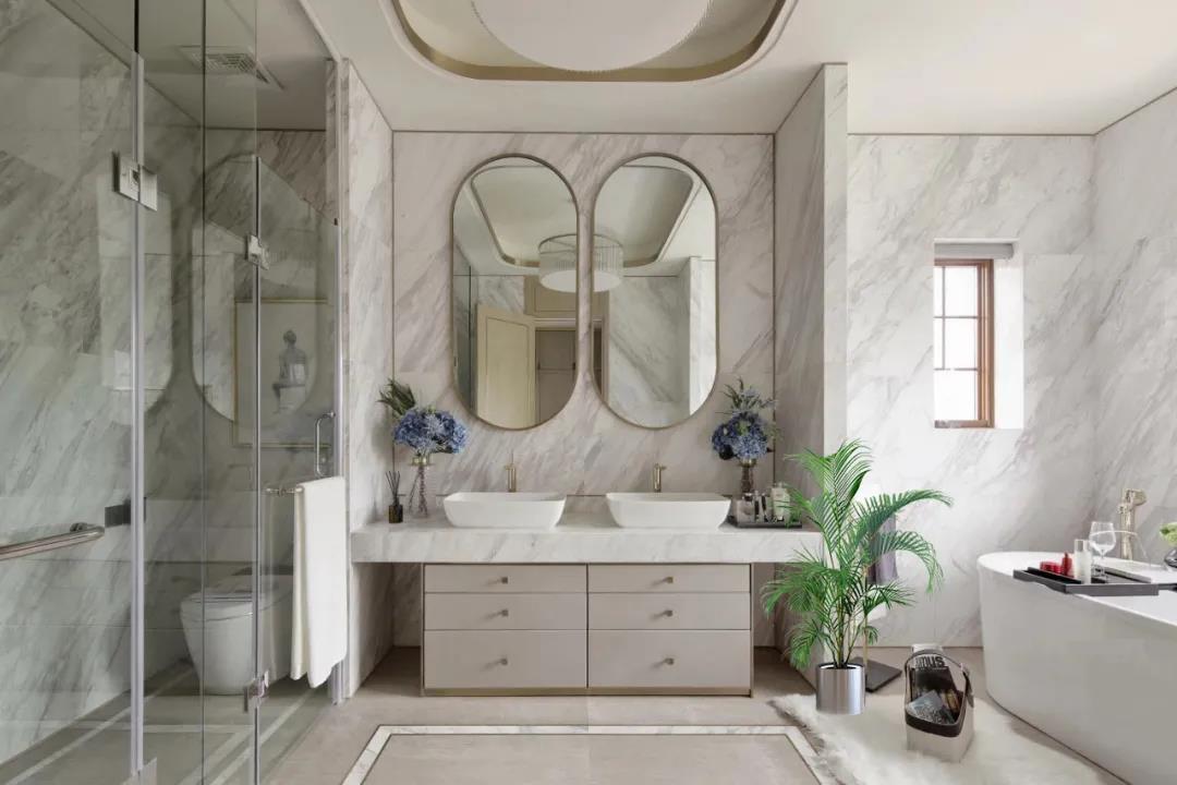 浴室里的颜值杀器,扮靓家居私密空间