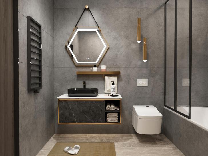 不锈钢浴室柜•BK-YS029