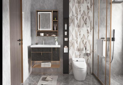 不锈钢浴室柜•BK-YS028