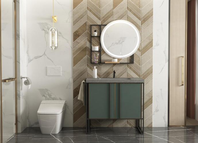 不锈钢浴室柜•BK-YS032