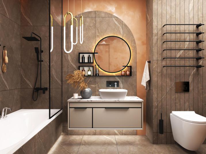 不锈钢浴室柜•BK-YS031